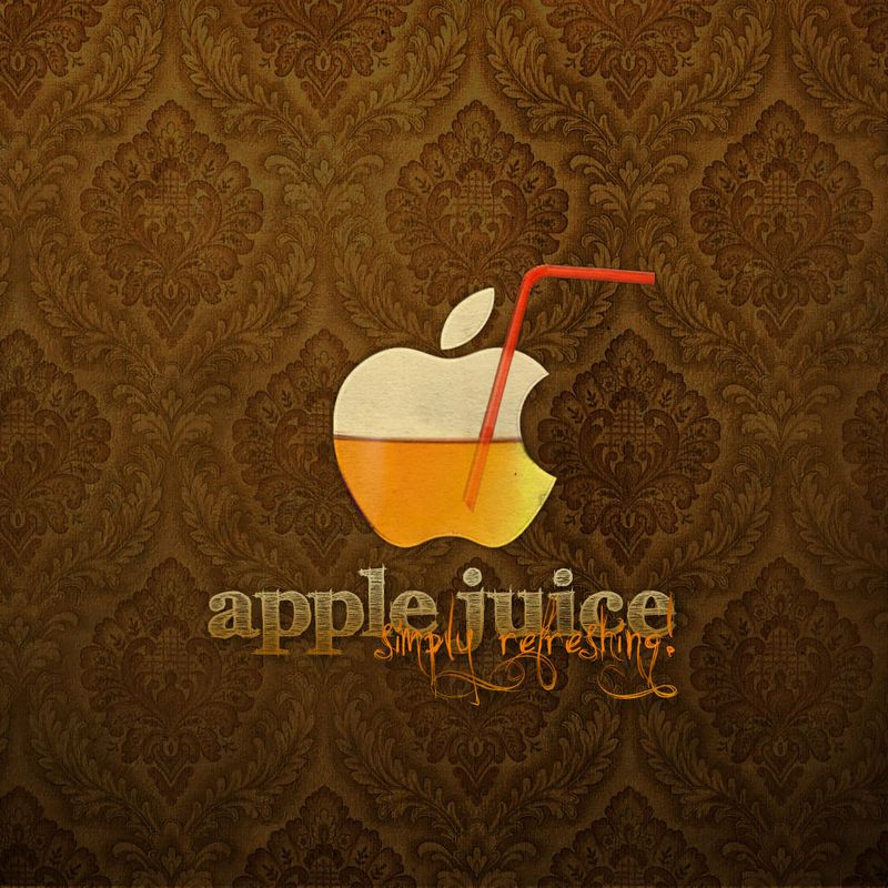 Vintage_Apple_Juice_Logo